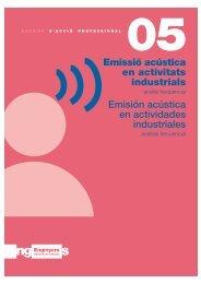 Emissió acústica en activitats industrials - Ajuntament de Terrassa