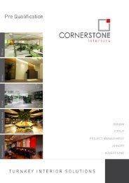 Company Profile - Cornerstone Dubai, Logo