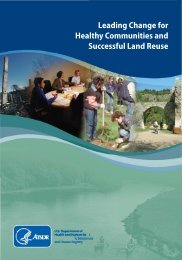 Leading Change for Healthy Communities and Successful Land ...