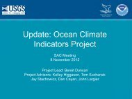 What Are Climate Change Indicators? - Gulf of the Farallones ...