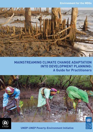 MainstreaMing CliMate Change adaptation into ... - UNEP