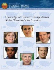 Knowledge Across Six Americas - Yale School of Forestry ...