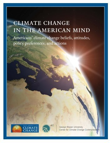Climate Change in the American Mind: Americans - Center for ...