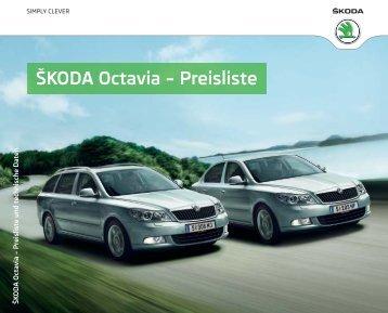 Octavia: Preisliste & Technische Daten - Skoda