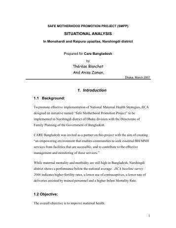 View publication file - CARE - Bangladesh