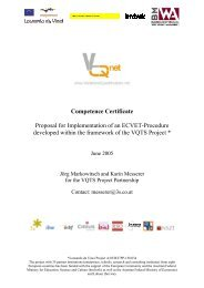 Competence Certificate Proposal for Implementation of an ... - biat