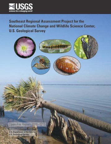 Southeast Regional Assessment Project for the ... - serap - USGS