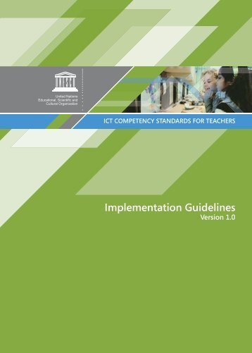 ICT-CST Implementation Guidelines - Communication and Information