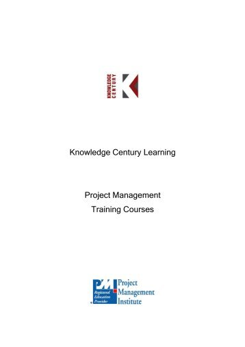 Knowledge Century Learning Project Management Training Courses