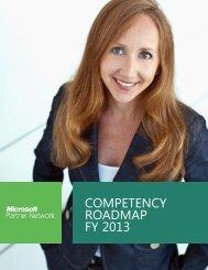 COMPETENCY ROADMAP FY 2013 - Microsoft Partner Network