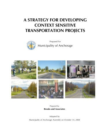 a strategy for developing context sensitive transportation projects
