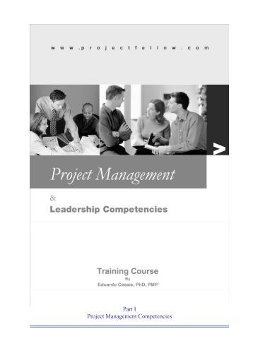 project management competencies Here's an easy to use tool to help assess the level on an individuals project management competency, what their job title should be and some ideas for professional development – fill it out.