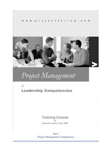 Project Management & Leadership Competencies: A Training ...