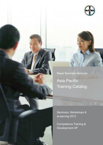 APAC Training Catalog (PDF / 1941 KB) - Competence Training der ...