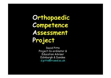 Orthopaedic Competence Assessment Project.pdf - The Knowledge ...