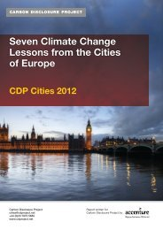 Seven Climate Change Lessons from the Cities of Europe - Carbon ...