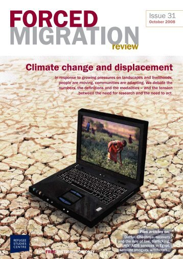Climate change and displacement - Forced Migration Review