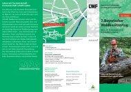 7. Bayerischer Waldbesitzertag - Bayerische Landesanstalt für Wald ...