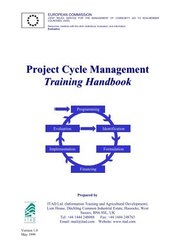 Project Cycle Management Training Handbook - CFCU