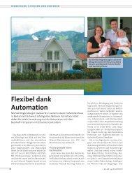 system HAUS - Flexibel dank Automation - Regensburger