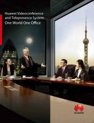 Huawei Videoconference And Telepresence System - prodyTel