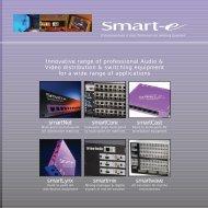 smartNet smartCore smartCast smartLynx smartmix ... - prodyTel