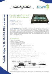 Nomada IP W und XL - prodyTel
