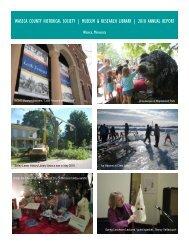 2010annrep12pp webversion - Waseca County Historical Society