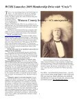 History Notes - Waseca County Historical Society - Page 5