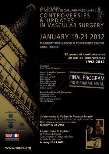 Programme CACVS 2012 - Cerma