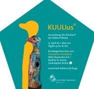 Ausstellung: Die KUULlus® der Editha Pröbstle 15. April bis 1. Mai ...
