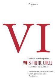 Programm - S-Thetic: Home