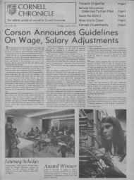 Corson Announces Guidelines On Wage, Salary Adjustments