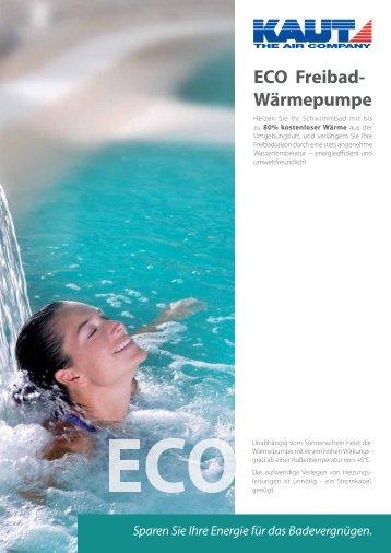 ECO Freibad- Wärmepumpe - Alfred Kaut GmbH + Co.