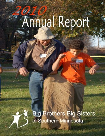 2010 Annual Report - Big Brothers Big Sisters of Southern Minnesota