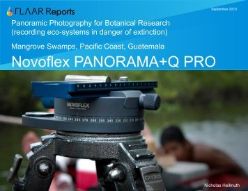 Novoflex PANORAMA+Q PRO - Digital photography camera reviews