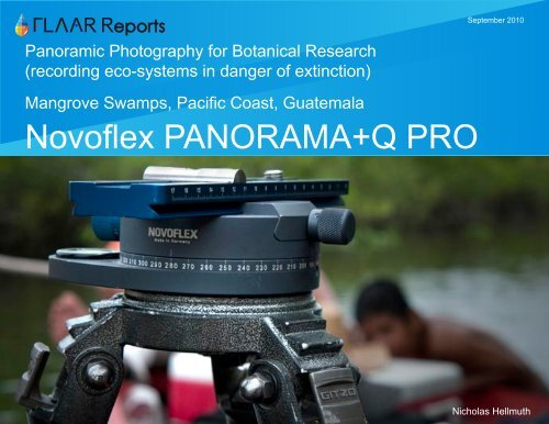 Novoflex PANORAMA+Q PRO - Digital photography camera reviews