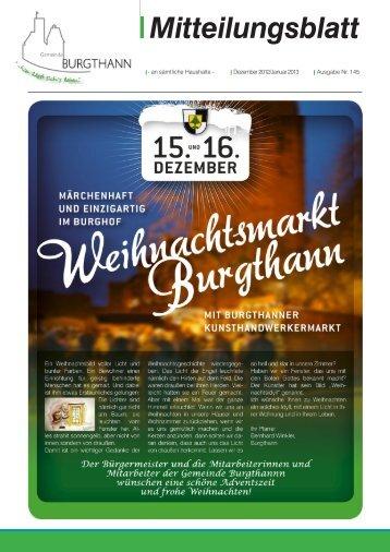 Mitteilungsblatt 145 - Gemeinde Burgthann