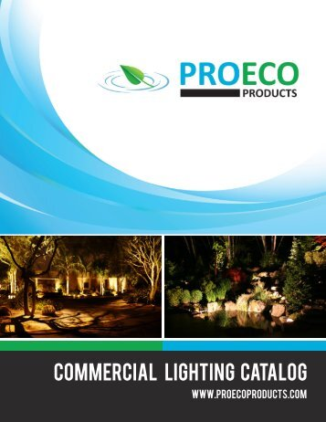 Commercial Lighting catalog - Pro Eco Products