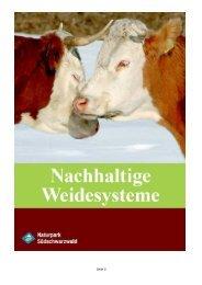 2009 05 18 Abschlussbericht Naturpark - Naturpark Südschwarzwald