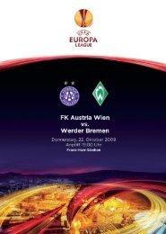 austria live europa league 2 2009/10 - FK Austria Wien