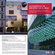 Architekturfolder pdf - Graz Tourismus