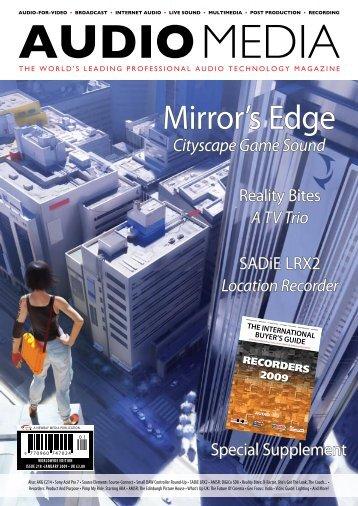 Mirror's Edge - Audio Media