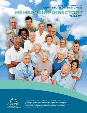 Member State Listing - National Association of Professional Geriatric ...