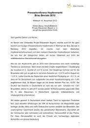 Verbandes Private Brauereien Bayern - Verband Deutscher ...