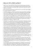 Wahlprogramm für die bayerische Landtagswahl 2008 - Seite 5