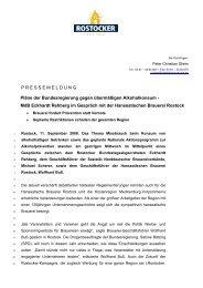 MdB Eckhardt Rehberg im Gespräch mit - Radeberger Gruppe KG