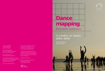 Dance mapping - Arts Council England