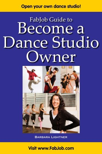 Dance Studio Owner - Fabjob.com