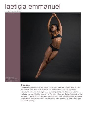 pilates resume - Laeticiaemmanuel.com